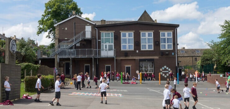 St Chads building and playground